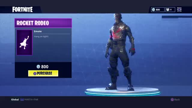 - living large emote fortnite