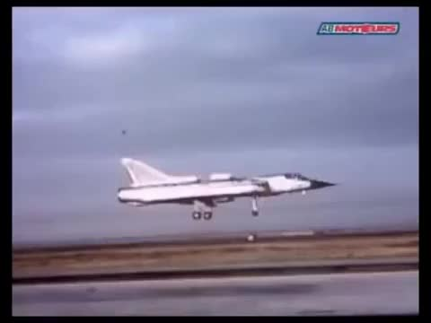 Watch and share Dassault Mirage IIIV Aka Balzac V - French VTOL Testbed Circa 1965 GIFs on Gfycat