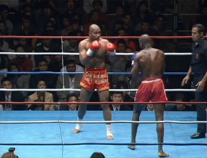 Kickboxing, MuayThai, The Origins of Japanese Kickboxing – The Karate vs Muay Thai Fight That Started It All (reddit) GIFs