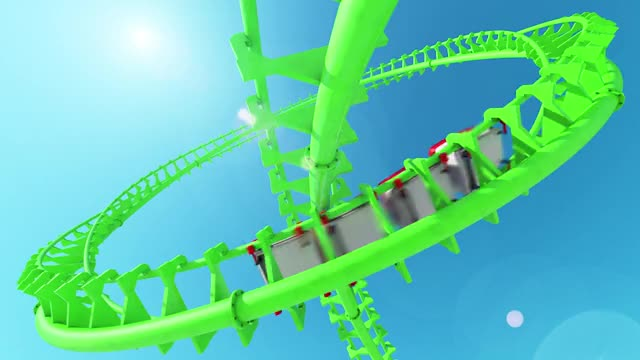 Watch and share Amusement Park GIFs and Roller Coaster GIFs by Locked And Loading on Gfycat