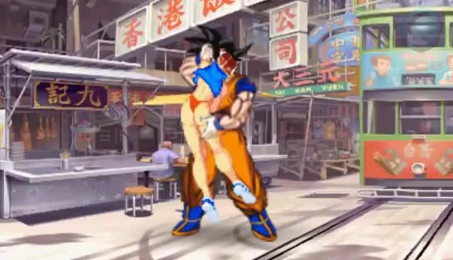 Watch Ryu vs Goku GIF on Gfycat. Discover more Chun Li, Dragon Ball Z, Goku, Ryu, Street Fighter GIFs on Gfycat