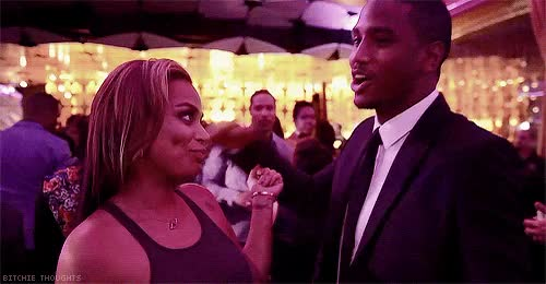 Watch and share Celebrity Couples GIFs and Lauren London GIFs on Gfycat