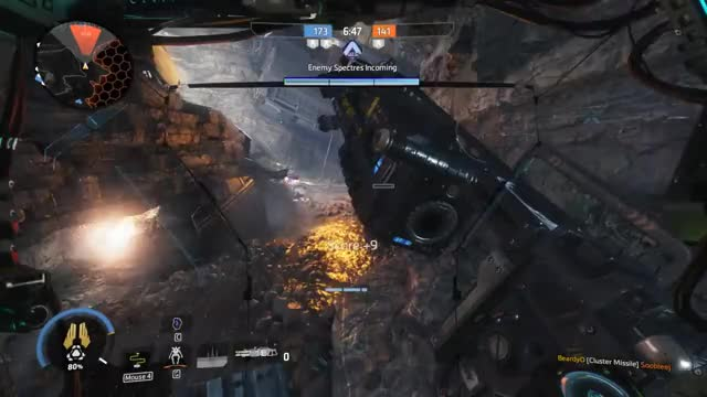 Watch and share [Titanfall 2] Northstar Is Cool GIFs on Gfycat