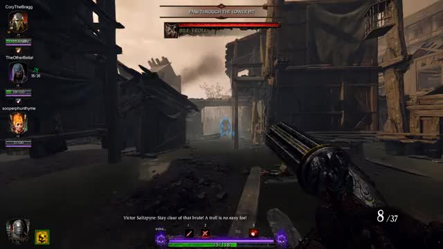 Watch and share Warhammer End Times- Vermintide GIFs on Gfycat