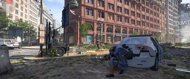 Tom Clancy's The Division 2 beta grenade shot GIF by