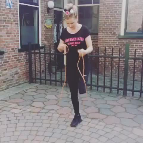 Watch and share Jump Rope GIFs by linaflamingo on Gfycat