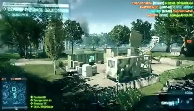 Watch and share Homme Grenade GIFs and Bf3 GIFs on Gfycat