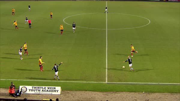 scottishfootball, Gary Mackay-Steven scores neatly-worked goal for Dundee United v Partick Thistle (reddit) GIFs
