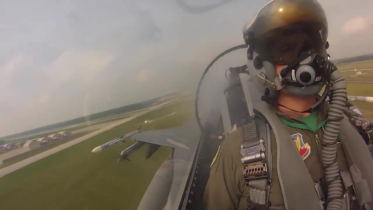 warplanegfys, F-16 Cockpit Video • 180th Fighter Wing (reddit) GIFs