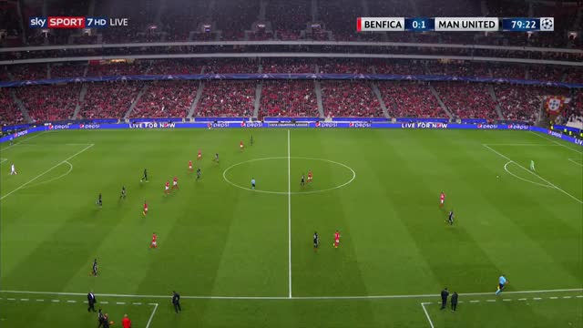 Watch and share 20171018 2209 - Sky Sport 7 Hd - Live Uefa Cl Benfica Lissabon - Manchester United, Gruppenphase 3 Spieltag, Mittwoch-1.m4v GIFs on Gfycat