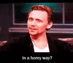 Watch and share Tom Hiddleston GIFs and Horny GIFs on Gfycat