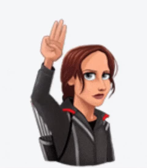 Watch and share Panem Greetings ANIMATED GIF - SpeakGif GIFs on Gfycat