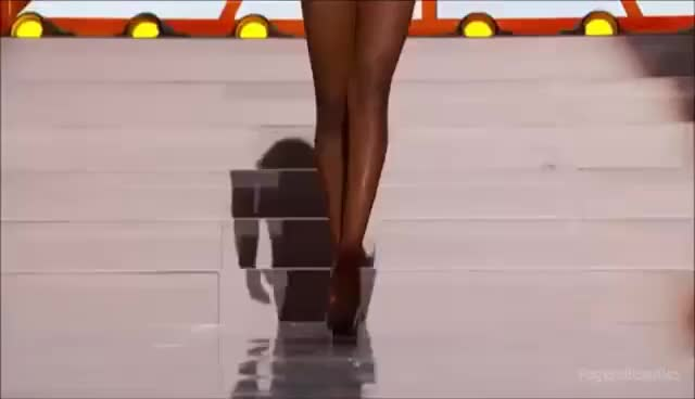 Watch and share MISS GABON 2013 IN SWIMSUIT PRELIMINARY GIFs on Gfycat