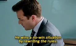 Watch and share Harvey Specter GIFs and Look At Them GIFs on Gfycat