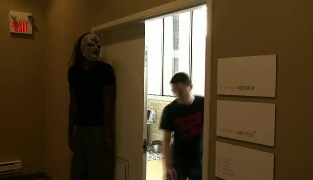 Amir, halloween, pranks, Amir halloween pranks GIFs