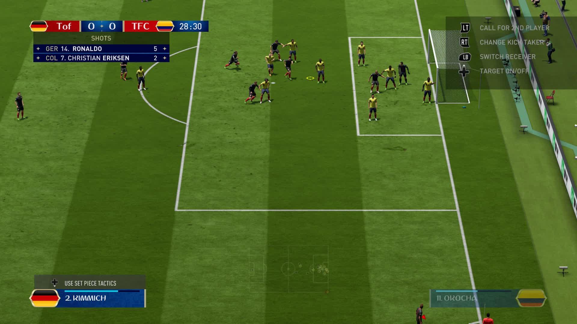 Fifa 18, fifa, soccer, Leon Goretzka is the GOAT. GIFs