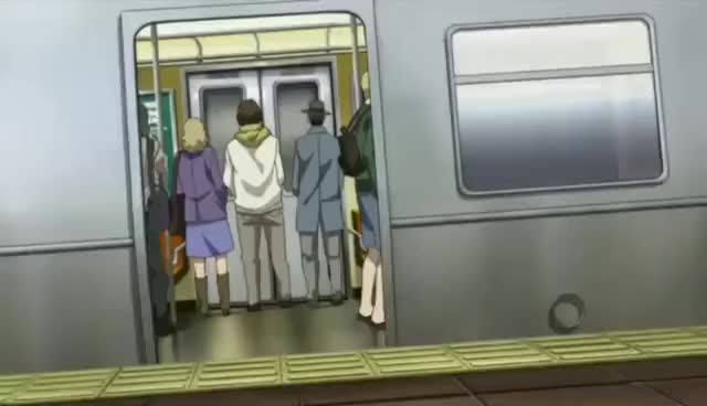 Watch and share New Prince Of Tennis: Ryoma Echizen - Epic Train Scene GIFs on Gfycat