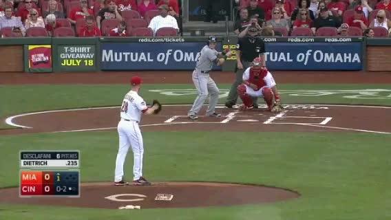 Watch and share Cincinnati Reds GIFs and Baseball GIFs by jsulliv6 on Gfycat