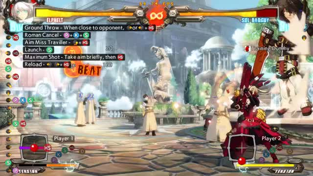 Watch and share GGXrd Rev2 Elphelt | Throw > RRC Confirm (SG + Pine Version) GIFs by SSF|Jaxas on Gfycat