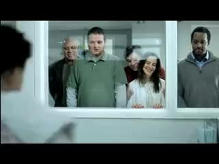 Fans, NHL, Sports, ad, aren, baby, best, commercial, funny, hockey, like, loser, maternity, other, phone, tv, verizon, wireless, Verizon Wireless Hockey Commercial - Maternity Ward GIFs