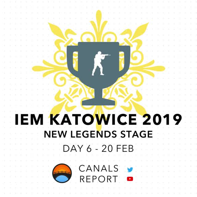 Watch Canals Report - Katowice 2019 Day 6 Recap Feb 20th GIF by shounic (@shounic) on Gfycat. Discover more related GIFs on Gfycat