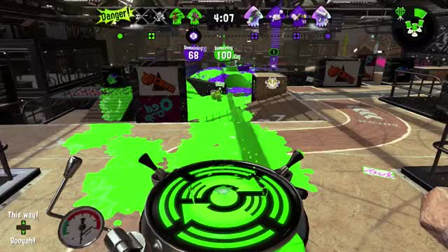Watch Melting a Baller with the Dapple Dualies GIF by @lhot10820 on Gfycat. Discover more Dapple Dualies, Splatoon 2, Tower Control GIFs on Gfycat