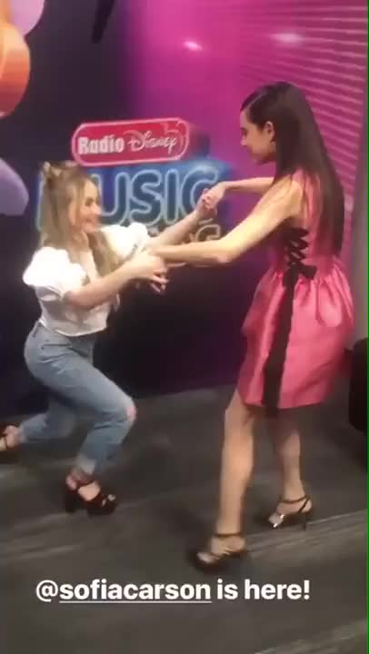 Watch Sabrina Carpenter BR - Sabrina com Sofia Carson no IG Story da Radio Disney! GIF on Gfycat. Discover more SabrinaCarpenter GIFs on Gfycat