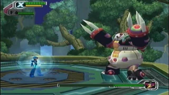 Megaman X8.- Bambo Pandamonium Stage Hard Mode(No damage)