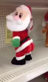 Papai Noel dançando dança 😂😂