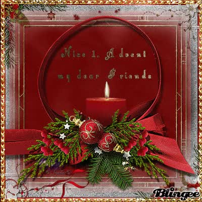 Watch and share S→ Nice 1. Advent My Dear Friends ♥ GIFs on Gfycat