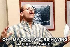 fire sale GIFs