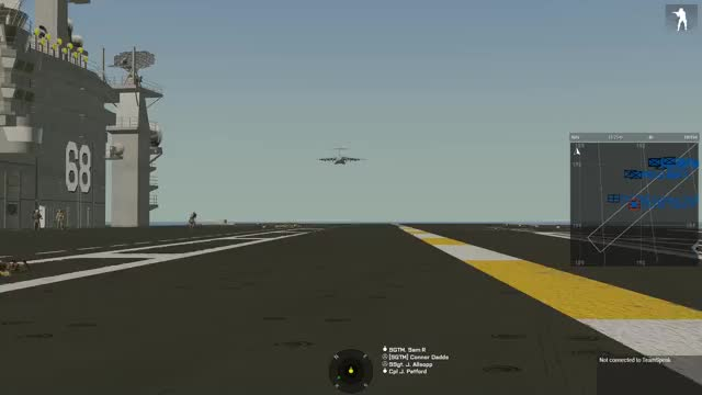 Watch and share C-17 Carrier Landing GIFs by sam on Gfycat