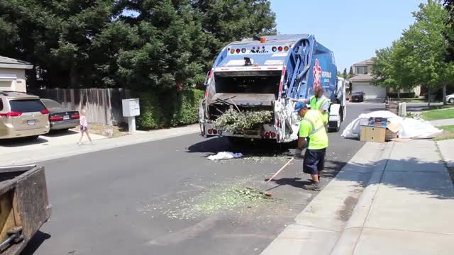 Watch and share Garbage Trucks GIFs and Green Waste GIFs on Gfycat