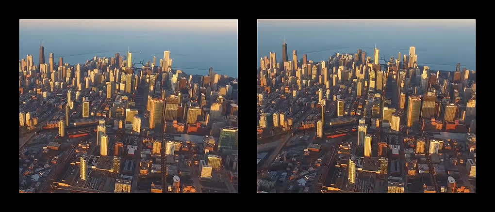 crossview, plane footage, Chicago Plane Footage (Crossview Conversion) GIFs
