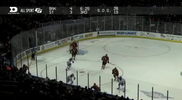 Watch and share Puljujarvi Stickcheck In Bakersfield GIFs by cultofhockey on Gfycat