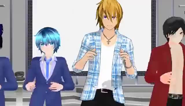 Watch and share [MMD] Talk Dirty To Me | Aphmau Boys GIFs on Gfycat