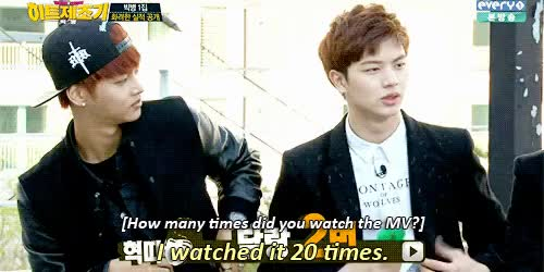 Watch and share Yook Sungjae GIFs and Big Byung GIFs on Gfycat