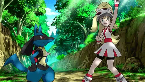Watch Lucario the Aura Pokemon GIF on Gfycat. Discover more excitment, friends, high five, korrina, lucario, lucario gif, pokemon, pokemon gif, pokemon xy GIFs on Gfycat