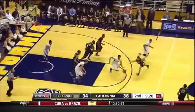 Watch Tyrone Wallace! GIF on Gfycat. Discover more Cal, Colorado, Tyrone, Wallace, dunk GIFs on Gfycat
