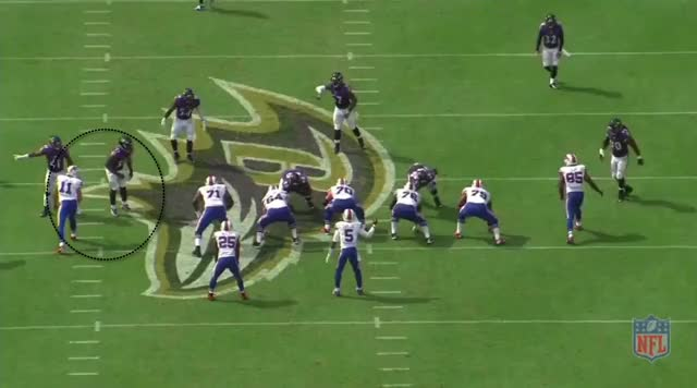 Watch and share Taylor QB Sweep Bills Ravens GIFs by Cover 1 on Gfycat