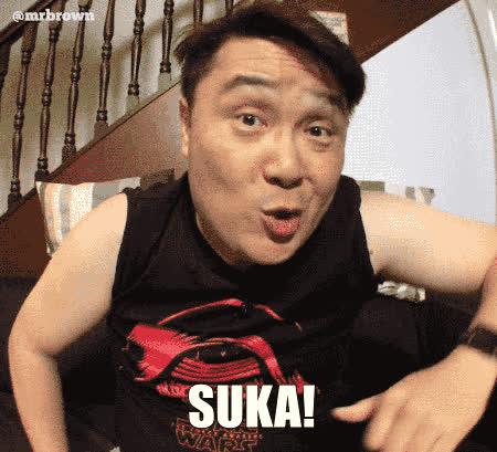 KimHuat, Singapore, mrbrown, Kim Huat Suka GIFs