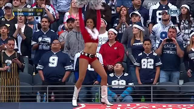 Watch and share Christmas GIFs and Dance GIFs by NFL Cheerleaders on Gfycat