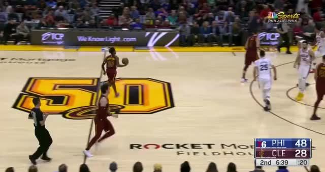 Watch and share Cleveland Cavaliers GIFs and Philadelphia 76ers GIFs by Kyle Neubeck on Gfycat