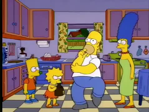 Watch Homer thinking dance GIF on Gfycat. Discover more Entertainment, The Bootstrap MF GIFs on Gfycat