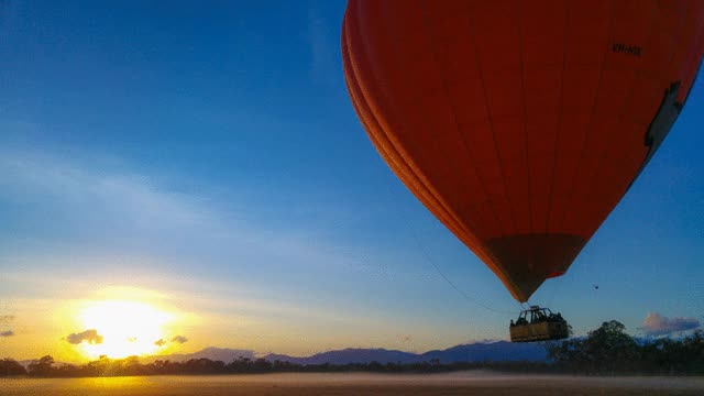 Watch and share Hot Air Balloon Cairns Landing GIFs on Gfycat