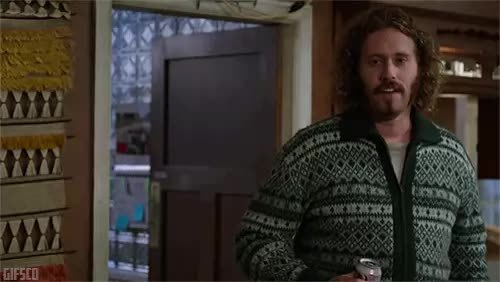 GfycatDepot, OutOfTheLoop, SquaredCircle, T J Miller, I've been known to fuck myself. [Silicon Valley 2014 HBO Erlich Bachman T.J. Miller self insult idiot fool clown moron dumb dumby sex sexual intercourse masterbate jerk off pleasure please stop] (reddit) GIFs
