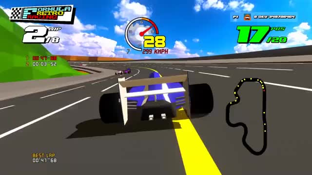 Watch and share Formula Retro Racing Pre-alpha Trailer GIFs by Pickled Sea Cat on Gfycat