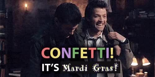 Watch this happy mardi gras GIF on Gfycat. Discover more happy mardi gras, mardi gras, misha collins GIFs on Gfycat