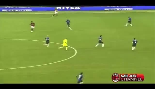 Watch and share Ronaldinho Goal On Inter 28-09-2008 GIFs on Gfycat