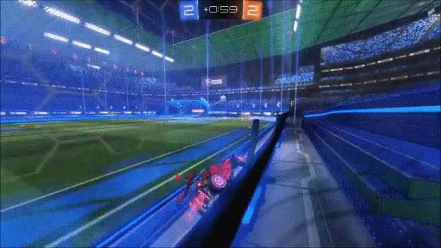 Watch Incredible own goal in overtime GIF on Gfycat. Discover more RocketLeague, rocketleague GIFs on Gfycat